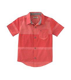 Calvin Klein Boys' 8-20 Gloaming Horizontal Shirt