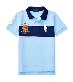Polo Ralph Lauren® Boys' 2T-7 Mesh Chest Striped Top