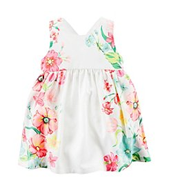 Carter's® Baby Girls' Floral Poplin Dress
