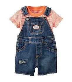 Carter's® Baby Boys' Striped Shortalls Set