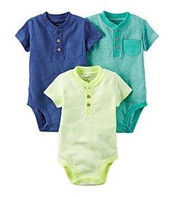 Carter's® Baby Boys' 3 Pack Bodysuit Set