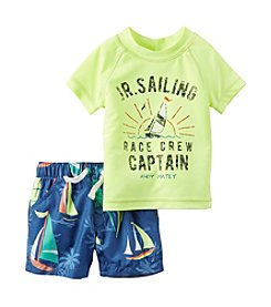 Carter's® Baby Boys' Sailing Swim Set