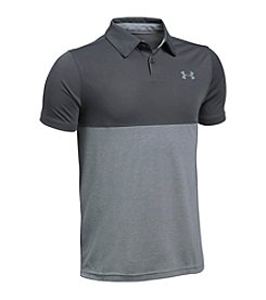 Under Armour® Boys' 8-20 Tech Blocked Polo Shirt