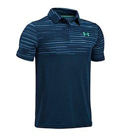 Under Armour® Boys' 8-20 Tech Blocked Polo Shirt