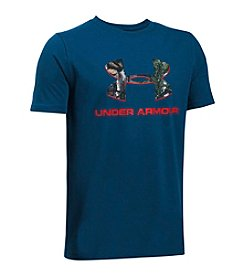 Under Armour® Boys' 8-20 Camo Fill Logo Tee