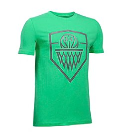 Under Armour® Boys' 8-20 Basketball Badge Tee