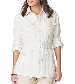 Chaps® Linen Jacket