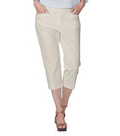 Chaps® Plus Size Stretch Twill Capri Pants