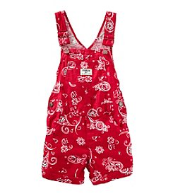 OshKosh B'Gosh® Girls' Printed Shortalls