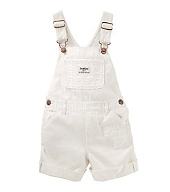 OshKosh B'Gosh® Girls' Eyelet Shortalls