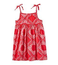 OshKosh B'Gosh® Girls' 2T-4T Bandana Print Dress