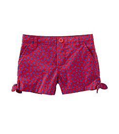 OshKosh B'Gosh® Girls' Side Tie Shorts