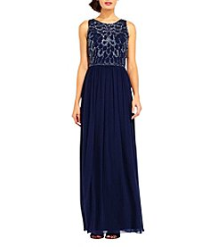 Adrianna Papell® Beaded Top Gown