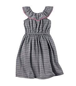 Carter's® Girls' 2T-8 Cold Shoulder Maxi Dress