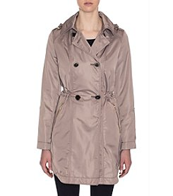 Laundry® Hooded Trench Anorak Jacket