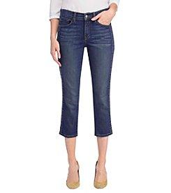 NYDJ® Embroidered Capri Jeans