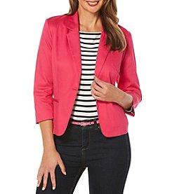 Rafaella® One Button Solid Jacket