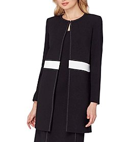 Tahari ASL® Long Jacket