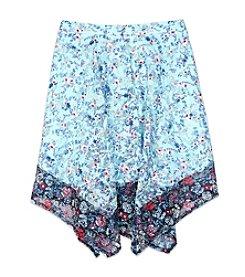 Amy Byer Girls' 7-16 Printed Prairie Skirt