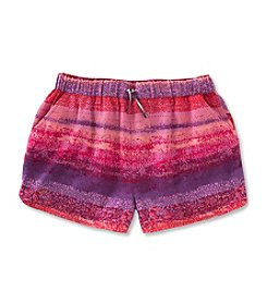 Calvin Klein Girls' 7-16 Printed Drapey Shorts