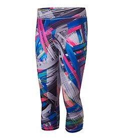 adidas® Girls' 7-16 Printed Capri Leggings