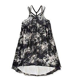 Calvin Klein Girls' 7-16 Crisscross Strap Dress