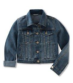 Calvin Klein Girls' 2T-6X Denim Jacket
