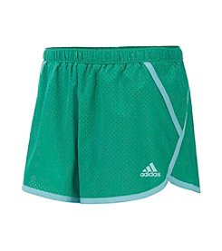 adidas® Girls' 7-16 Finish Line Woven Shorts