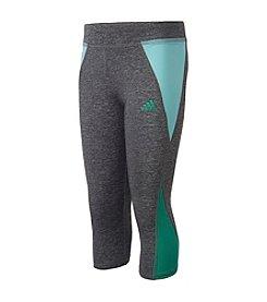adidas® Girls' 7-16 Colorblocked Capri Tights