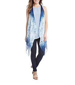 Karen Kane® Ombre Floral Vest