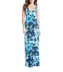 Karen Kane® Sea Glass Maxi Dress