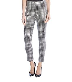 Karen Kane® Diamond Jacquard Pants