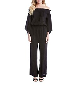 Karen Kane® Off Shoulder Jumpsuit