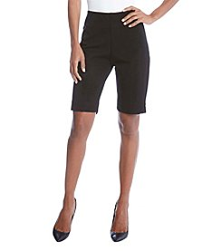 Karen Kane® Side Slit Shorts
