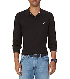 Nautica® Men's Big & Tall Long Sleeve Interlock Polo