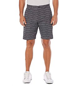 PGA TOUR® Men's Hybrid Printed Linear Shorts