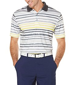 PGA TOUR® Men's Ombre Printed Stripe Polo