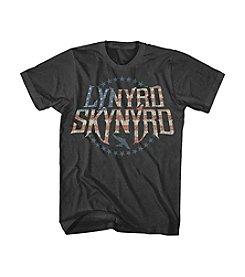 Live Nation Men's Lynyrd Skynrd Stripes Graphic Tee