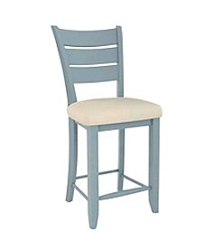 Canadel Flared Wide Spaced Ladder Back Counter Stool