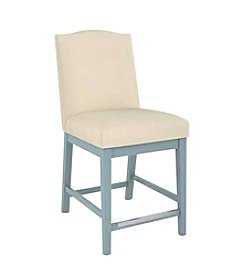 Canadel High Back Upholstered Counter Stool