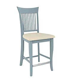 Canadel Flared Narrow Spaced Slat Back Counter Stool