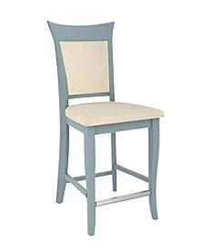 Canadel Flared Upholstered with Combo Solid Back Counter Stool