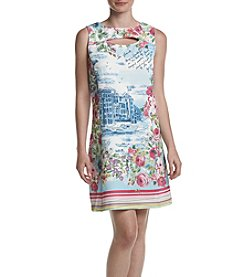Gabby Skye® Scenic Printed Dress