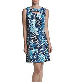 Gabby Skye® Leaf Print Dress