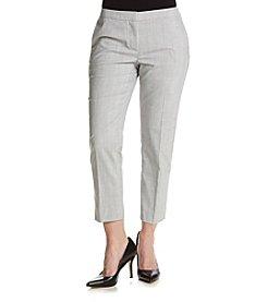 Calvin Klein Petites' Menswear Plaid Pants