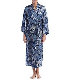 Jones New York® Printed Satin Robe