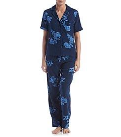 Jones New York® Floral Printed Pajama Set