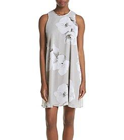 Calvin Klein Chiffon Shift Dress