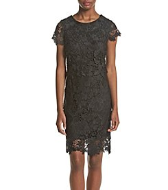 Madison Leigh® Lace Pop-Over Sheath Dress