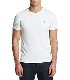 Polo Ralph Lauren® Men's Short Sleeve Custom Fit Crewneck Shirt
